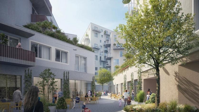 Wohnbauprojekt Campagne Reichenau