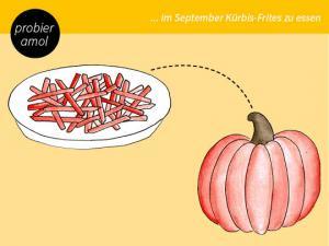 Kürbis-Frites