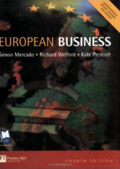 European Business, fourth edition